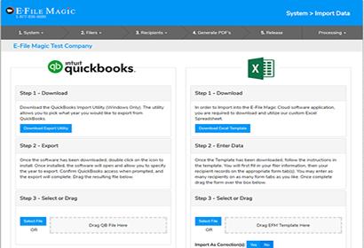 Imports | Features - E-File Magic